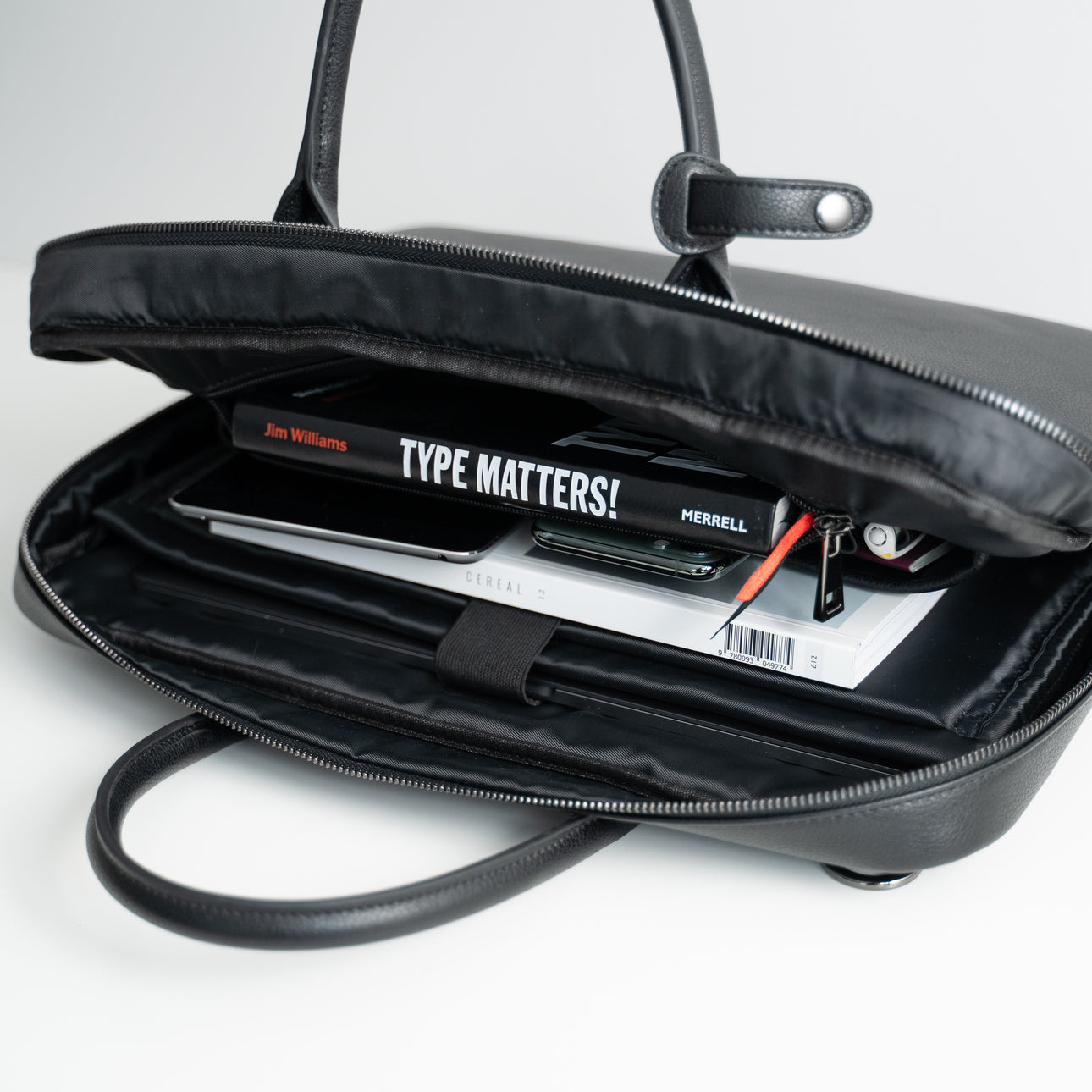 Commuter Briefcase - Black