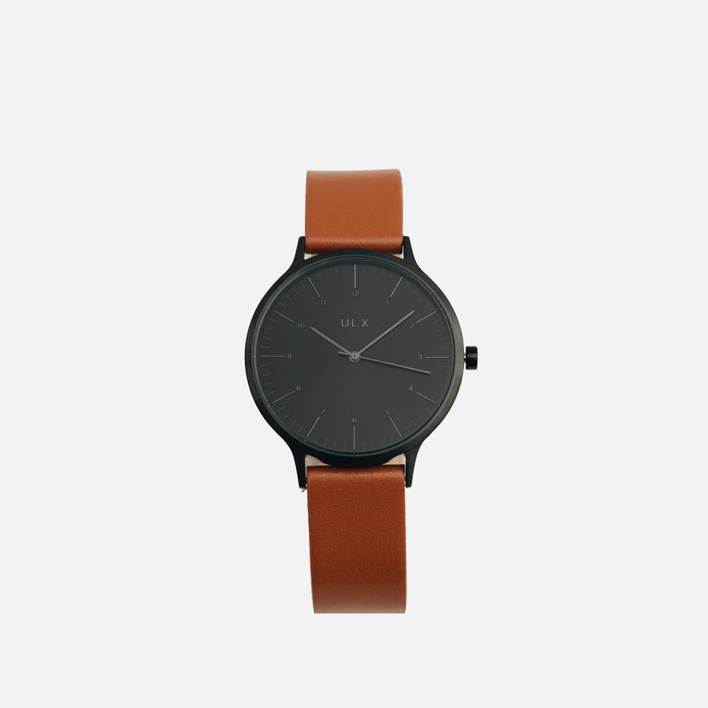Core - Black & Brown Leather
