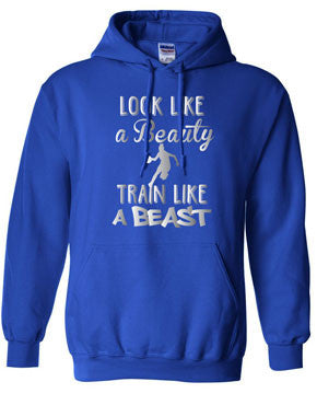 Beauty Beast Basketball Hoodie