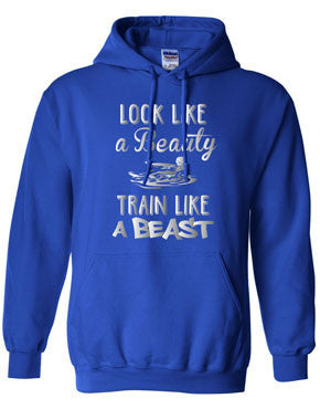 Beauty Beast Softball Hoodie