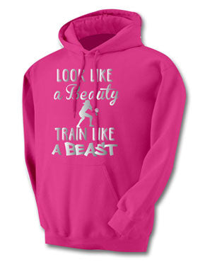 Beauty Beast Volleyball Hoodie