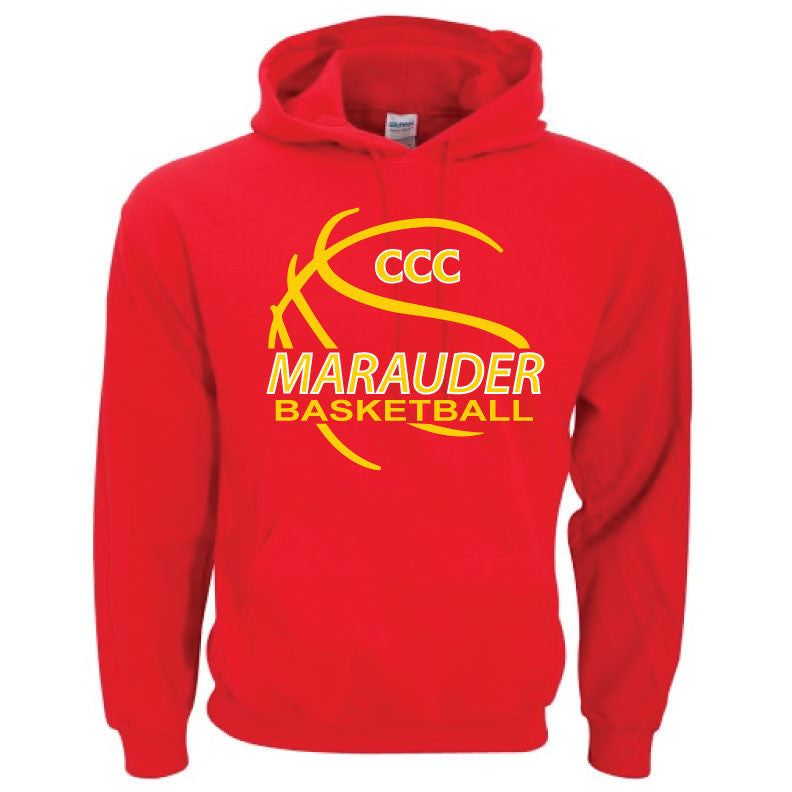 CCC Marauder Basketball Hoodie - LIMITED QUANTITIES - ONLY AVAILABLE WHILE SUPPLIES LAST