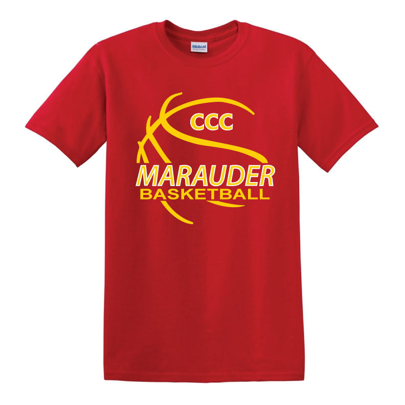 CCC Marauder Basketball T-Shirt