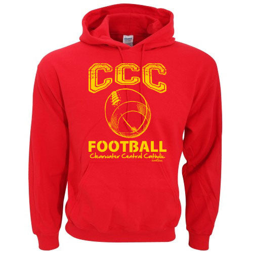 CCC Marauder Football Hoodie - LIMITED QUANTITIES - ONLY AVAILABLE WHILE SUPPLIES LAST