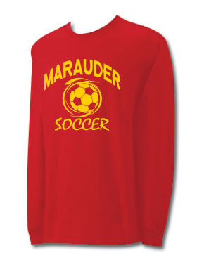 CCC Marauder Soccer Long Sleeve T-shirt