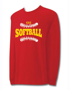 CCC Softball Long Sleeve T-shirt