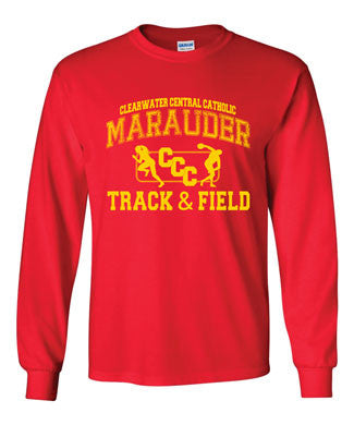 CCC Marauder Track & Field Long Sleeve T-shirt