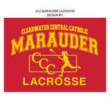 CCC MARAUDER LACROSSE SHORT SLEEVE T-SHIRT  - LIMITED QUANTITIES - ONLY AVAILABLE WHILE SUPPLIES LAST