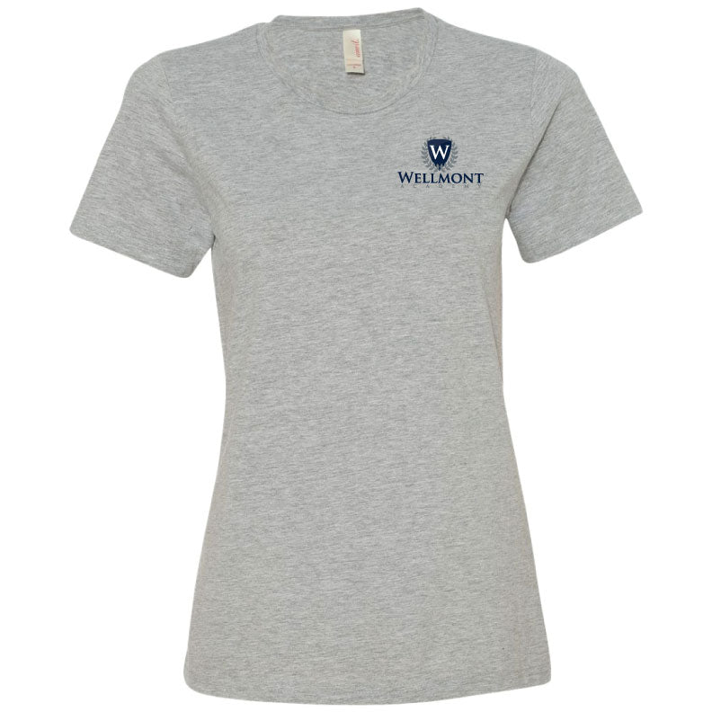 Wellmont Academy Ladies' Short Sleeve T-Shirt