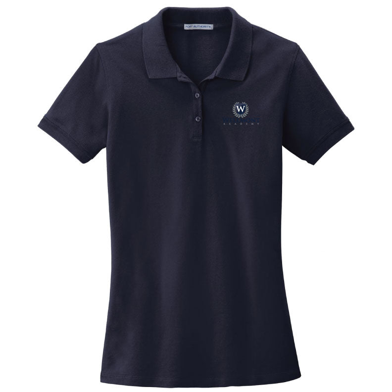 Wellmont Academy Ladies' Short Sleeve Polo