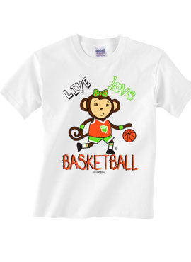 Live Love Basketball T-shirt