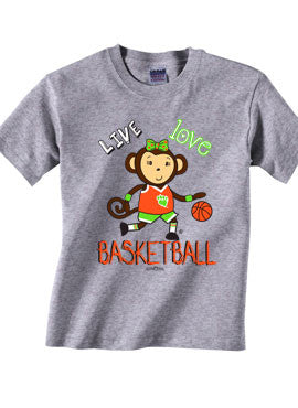 Follow Your Heart Basketball T-shirt