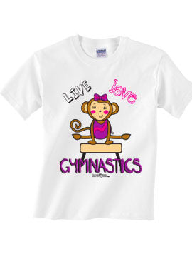 Live Love Gymnastics T-shirt