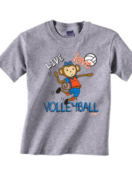 Live Love Volleyball T-Shirt