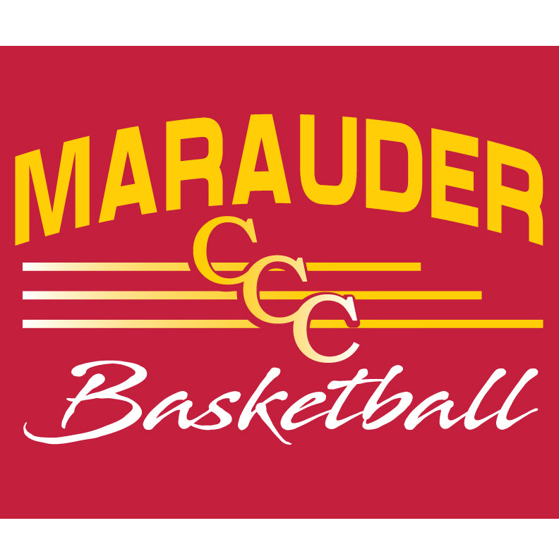 CCC Marauder Basketball NEW Long Sleeve Drifit T-shirt - LIMITED QUANTITIES - ONLY AVAILABLE WHILE SUPPLIES LAST