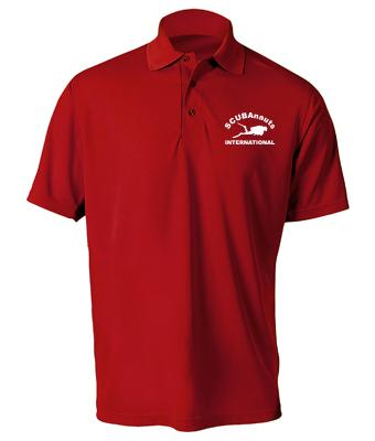SCUBAnauts Men's Performance Polo