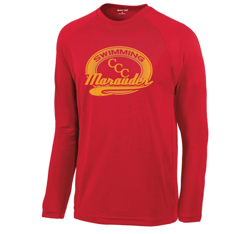 CCC Marauder Swimming Long Sleeve Drifit T-shirt - LIMITED QUANTITIES - ONLY AVAILABLE WHILE SUPPLIES LAST