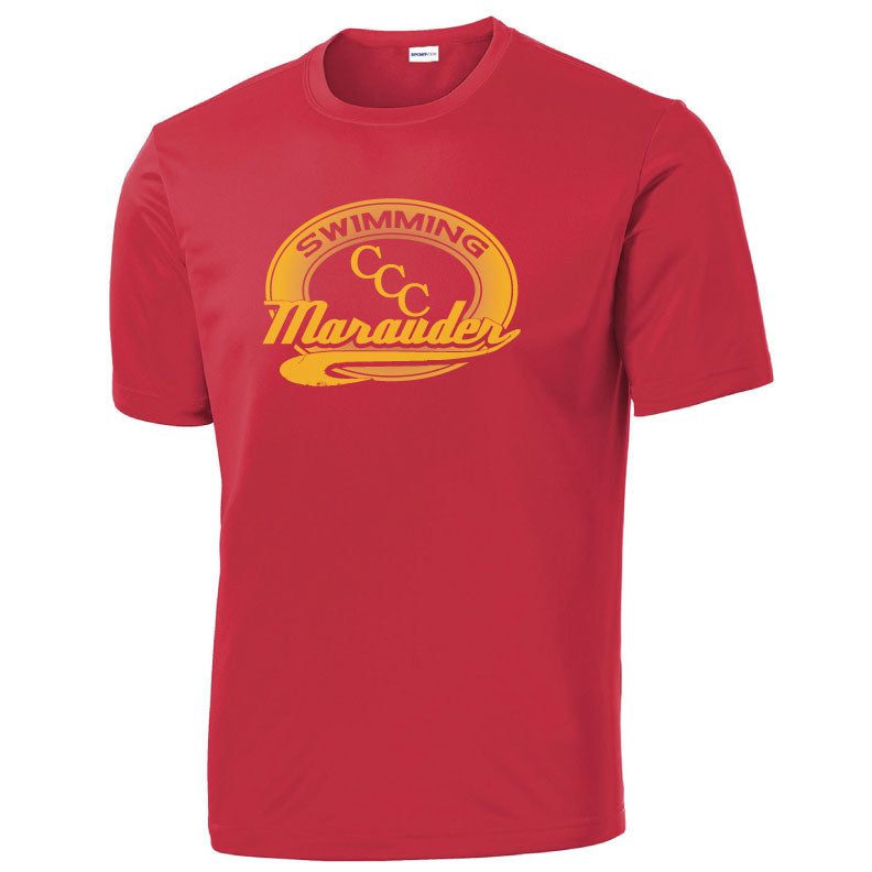 CCC Marauder Swimming Short Sleeve Drifit T-shirt - LIMITED QUANTITIES - ONLY AVAILABLE WHILE SUPPLIES LAST