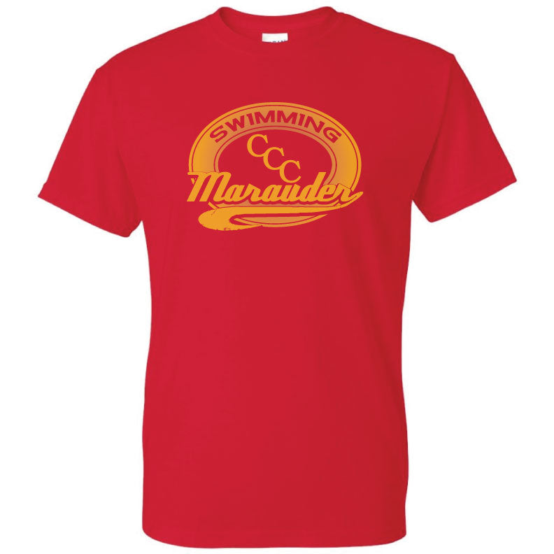 CCC Marauder Swimming Short Sleeve T-shirt - LIMITED QUANTITIES - ONLY AVAILABLE WHILE SUPPLIES LAST