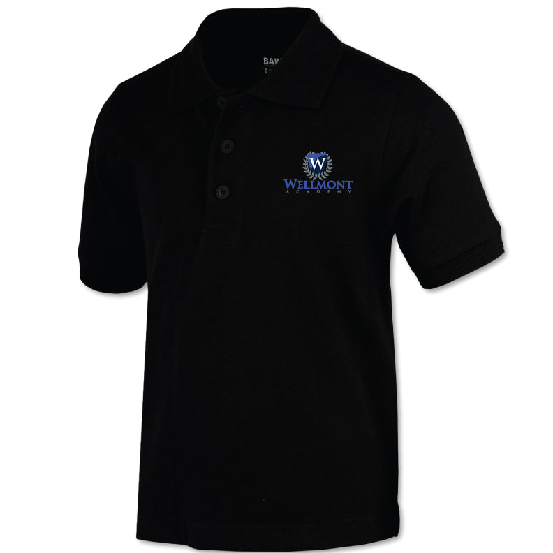 Wellmont Academy Youth Short Sleeve Polo