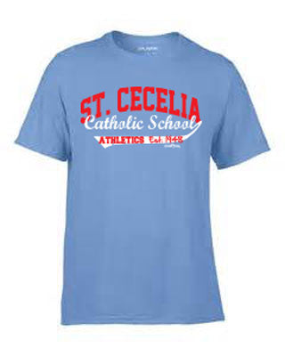 St. Cecelia Catholic School Athletics Short Sleeve T-shirt