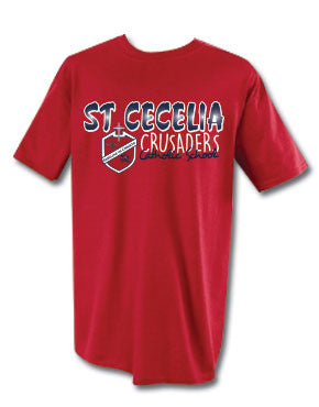 St. Cecelia Catholic School Crusaders Short Sleeve T-shirt