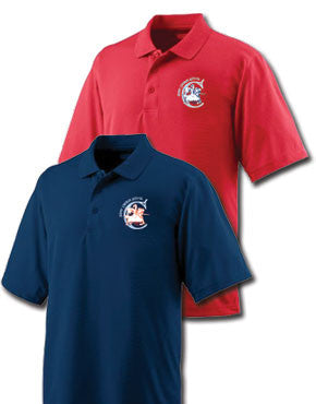 St. Cecelia Catholic School Crusaders Men's Wicking Mesh Polo