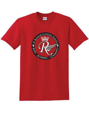St. Raphael Catholic School Red Spirit T-Shirt