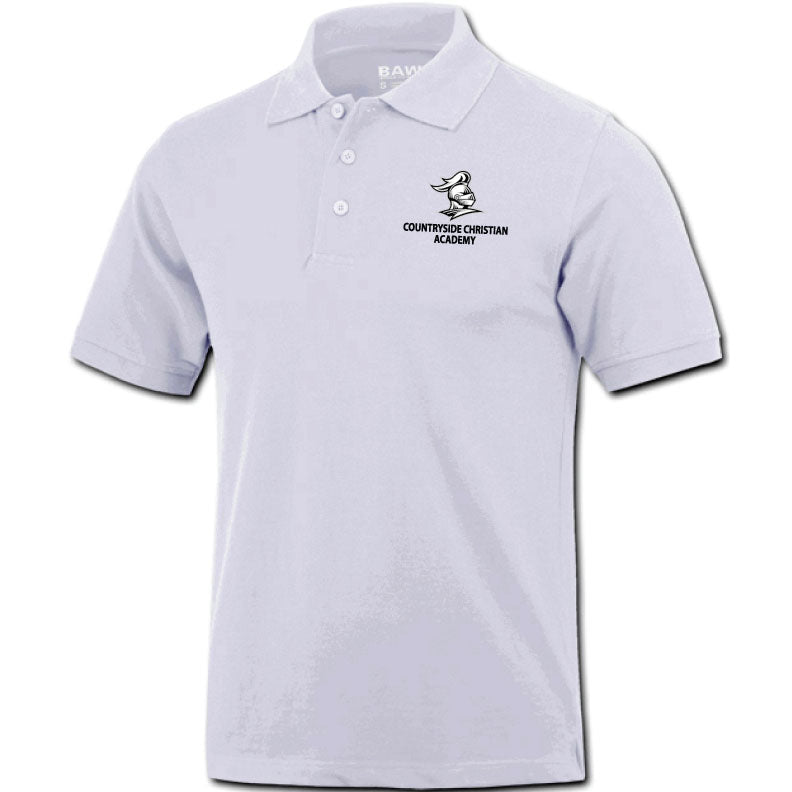 Countryside Christian Academy Short Sleeve Polo Shirt