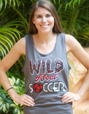 Wild About SOCCER Tank Top