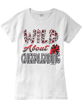 Wild About Cheer Fashion T-Shirt