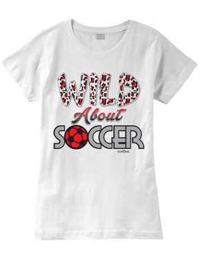 Wild About SOCCER Fashion T-Shirt