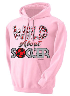 Wild About Soccer Hoodie