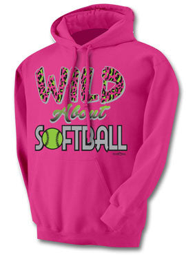 Wild About Softball Hoodie