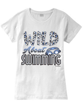 Wild About SWIMMING Fashion T-Shirt