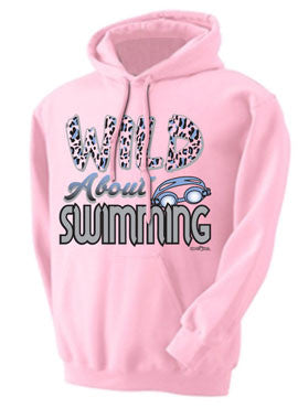 Wild About Swimming Hoodie