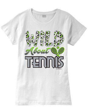 Wild About TENNIS Fashion T-Shirt