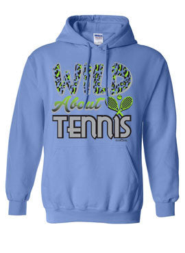 Wild About Tennis Hoodie
