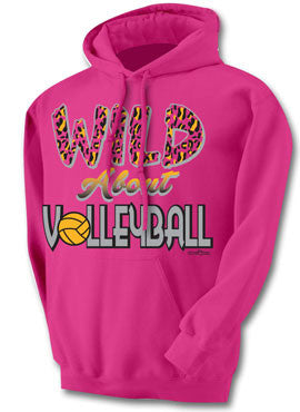 Wild About Volleyball Hoodie