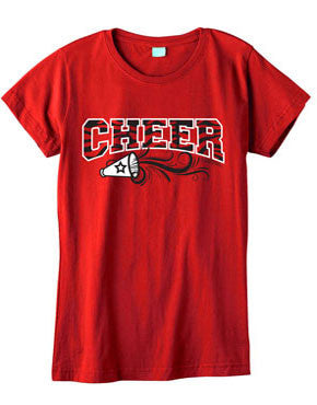 Zebra Cheer Fashion T-Shirt
