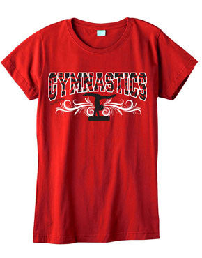 Zebra Gymnastics Fashion T-Shirt