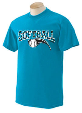 Zebra Softball T-Shirt
