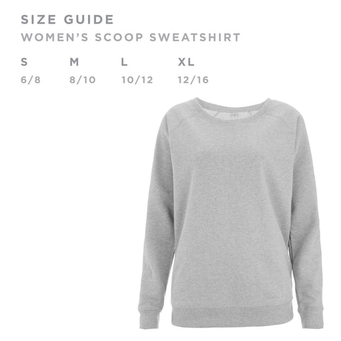 oversized sweater size guide