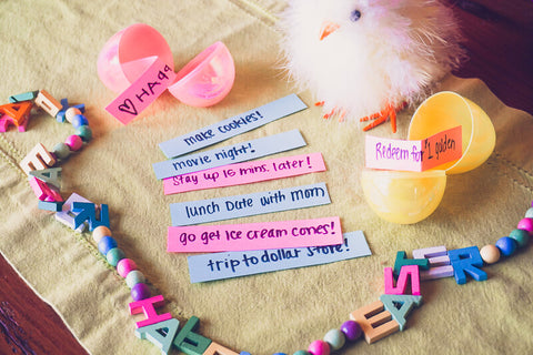 Easter Egg Hunt Slip Ideas