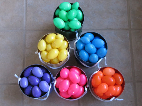 Colour Co-ordinated Easter Eggs