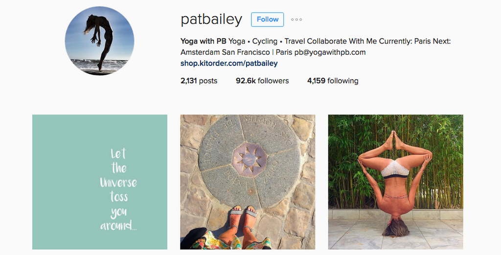 Pat Bailey Instagram Account