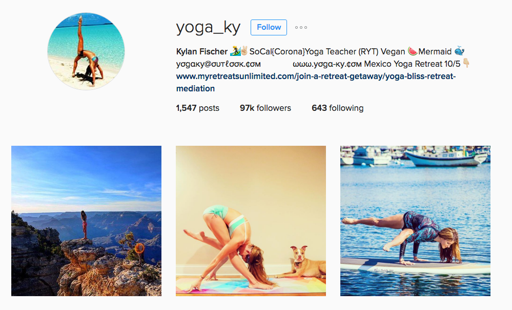 yoga_ky Instagram Account Yoga