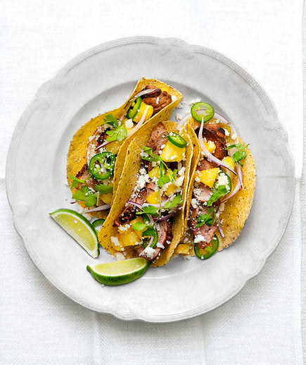 Pork and Pineapple Tacos