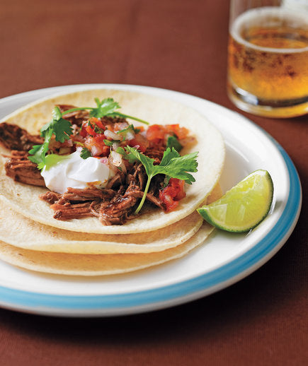 Slow-Cooker Pulled-Pork Tacos