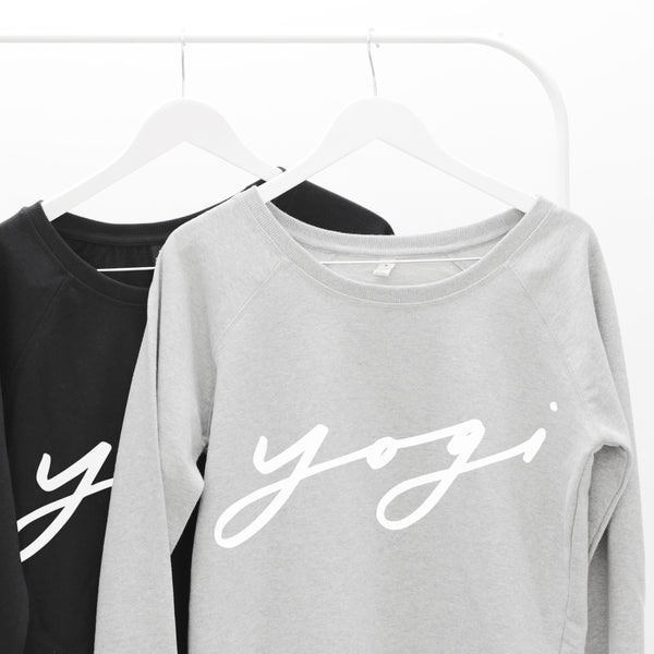 Yogi Letter Clothing Sweaters